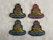 Royal Artillery - Embroidered Patches / Badges - Sew On Breast / Biker Patch