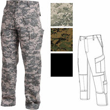 Tactical ACU Pants, Army Combat Uniform Ripstop Milspec Military Cargo Fatigues