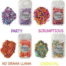 Festival Glitter Mixed Chunky -  for Body Face Nail Art Tattoo - 200 Colours