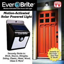 EverBrite LED Outdoor Solar Powered Wireless Motion Activated Light-AS ON TV