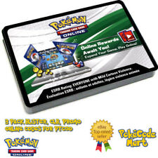 3PK BLISTER / PROMO Pokemon Online Code Cards for PTCGO Fast E-Delivery