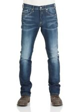 REPLAY Vaqueros Hombre waitom regular fit - Pierna Delgada -azul- Medio Azul