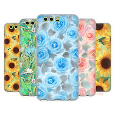 OFFICIAL MICKLYN LE FEUVRE FLORALS 4 SOFT GEL CASE FOR HUAWEI PHONES