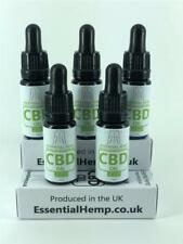 * WHOLE PLANT EXTRACT CBD OIL - 250MG - FROM PURE EUROPEAN ORGANIC HEMP PLANTS *