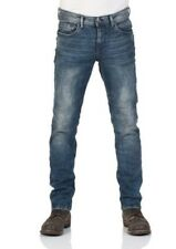 TOM TAILOR Denim Jeans Uomo Piers - Super Slim Fit - Blu - DENIM BLU