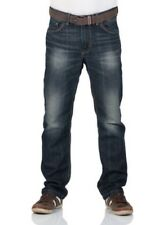 TOM TAILOR Jeans Uomo Trad relaxed fit - Blu - SPORCO scuro stone wash