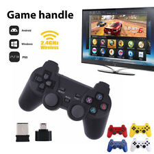 Hot 2.4GHz Wireless Dual Joystick Game Controller Gamepad For PC TV Box V