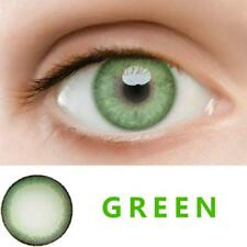 Kontaktlinsen Green Contact Lenses Kawaii Color Soft Big Eye Cosmetic one pair