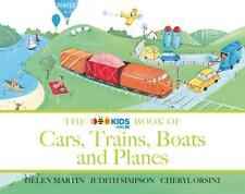 The ABC Book of Cars, Trains, Boats and Planes by Helen Martin Paperback Book Fr