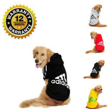 Dog Hoodie Coat New Fashion Cute Casual Winter Warm Soft Adidog Sports Sweater