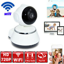 720P Wireless IP Camera Network 2-Way Audio Home Security Night Vision SD Card