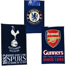 OFFICIAL FOOTBALL CLUB CRESTED BEDROOM CARPET RUG FLOOR MAT TOWEL & BLANKET NEW