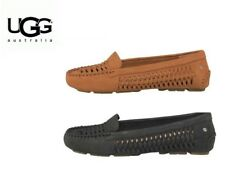 UGG Womens Clary Loafers Moccasin Style Shoes suede woven moccasin style shoes