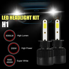 H1/H4/H7 200W 8000LM Coche Headlight LED lámpara Bombillas Kit Lamp 6000-6500K