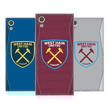 OFFICIAL WEST HAM UNITED FC 2018/19 CREST KIT SOFT GEL CASE FOR SONY PHONES 1