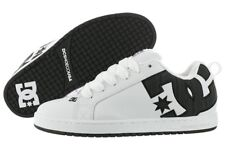DC SHOES COURT GRAFFIK SE WHITE BLACK SCARPE SKATE SHOES SNEAKERS