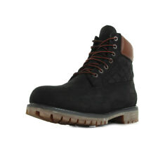 Chaussures Boots Timberland homme 6 IN Premium Boot Black taille Noir Noire Cuir