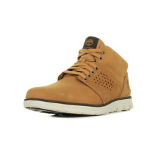 Chaussures Baskets Timberland homme Bradstreet Half Cab taille Beige Cuir Lacets
