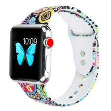 Silicone Sport Band Strap for Apple Watch iwatch Series 3/2/1 38mm 42mm,M/L Size