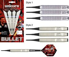 Gary Anderson Bullet - Stainless Steel - Soft Tip Darts by Unicorn - 16g to 19g