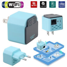 WIRELESS-N WIFI 300 Mbps RIPETITORE AMPLIFICATORE Router Range Extender segnale