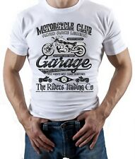 Motorcycle Club - Mens Motorbike T-Shirt Biker Motorcycles Bike