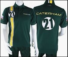 POLO Poloshirt Adult Formula One 1 Caterham F1 Team NEW! Vitaly Petrov