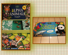 ALPHAS ANIMALS (Alpha Animaux) Avec 7 catégories d'animaux The Green Board Games