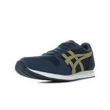Chaussures Baskets Asics homme Curreo II Peacoat Aloe taille Bleu marine Bleue