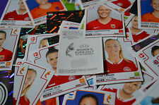Panini UEFA Women's EURO 2017 -SELECT YOUR- Album Stickers (195-334) singles