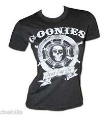 T-shirt The Goonies Captain Wheel Never say die maglia Donna ufficiale