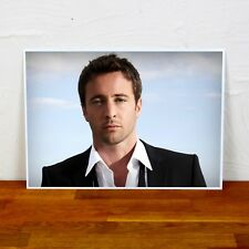 Alex O'Loughlin Poster Print -  2 Sizes - Colour and BW - A4 and A3 sizes