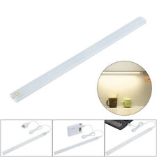 USB Touch Dimmable Under Cabinet LED Light Desktop Lamp Closet Lighting Bar Tube