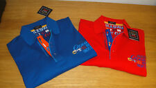 New Paul & Shark Polo Shirt size XXL available in Blue & Red Superb comfort WOW!