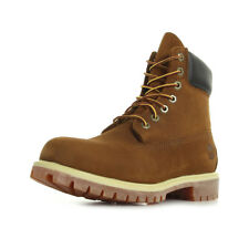 Chaussures Boots Timberland homme AF 6 IN Premium Rust taille Camel Cuir Lacets