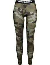 Urban Classics Ladies MIMETICI Logo Leggings