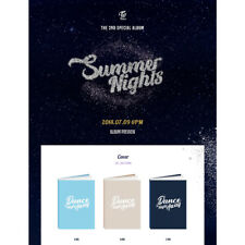 TWICE Summer Nights 2nd Special Album CD+Poster+Booklet+PhotoCard KPOP Sealed