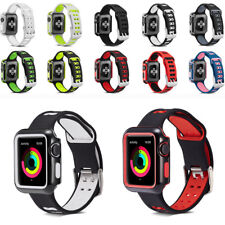 Replacement Silicone Wrist Sport Band Strap For Apple Watch iWatch 38/42mm