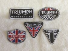 Triumph Motorcycles Biker Patches / Badges - Embroidered - Sew On Breast