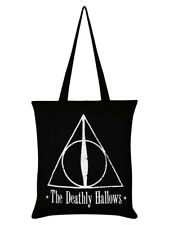 Harry Potter The Deathly Hallows Black Tote Bag 37 x 40cm