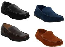 Mens Suede Leather Slip on Loafer Casual Driving Smart Moccasin Shoes Size 6-12