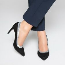Mademoiselle R Womens Wave Cutout Leather Heels