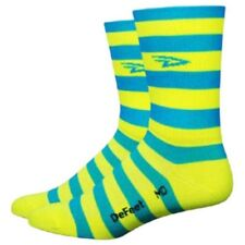 Defeet Aireator Hi-top 5 Blue / Yellow , Calcetines Defeet , ciclismo