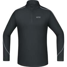 Gore® Wear R3 L/s Zip Shirt Black , Camisetas GORE® Wear , running , Ropa hombre