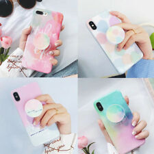 Fresh Summer TPU Case Cover con supporto espandibile per iPhone X 6/6S 7 8 Plus
