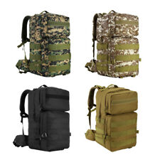 55L Molle Tactical Backpack Bag for Camping Travel Hiking Hunting Mountaineering