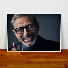 Jeff Goldblum Poster Print -  2 Sizes - Colour and BW - A4 and A3 sizes