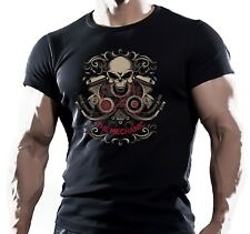 The Mechanic - Mens Motorbike T-Shirt Biker American Motorcycles Bike