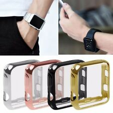 Protettivo Placcato Custodia PC Case Cover per Apple Watch Series 3 2 38mm/42mm