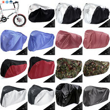 Single / Double / Triple Bicycle Bike Cycle Rain Dust Outdoor Cover Waterproof